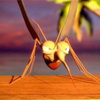喝六神的蚊子